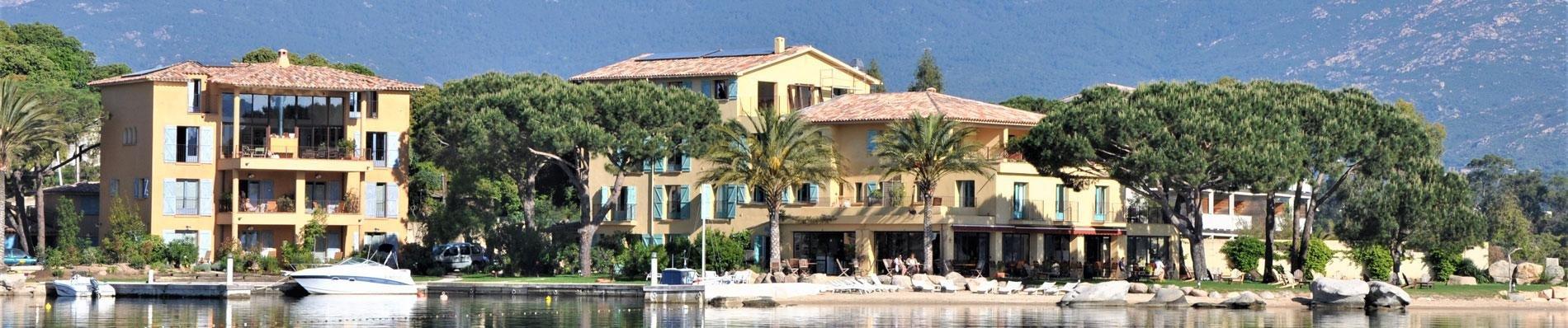 hotel le goeland corse corsica hotel aan zee porto vecchio